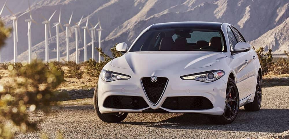 2019 Alfa Romeo Giulia front view