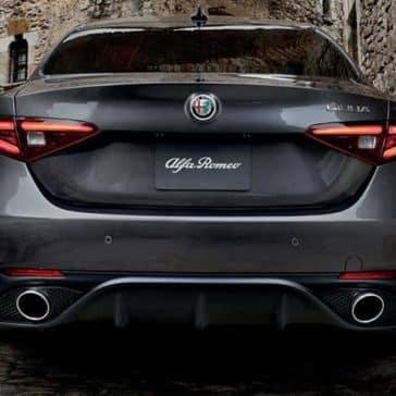 2019 Alfa Romeo Giulia rear view