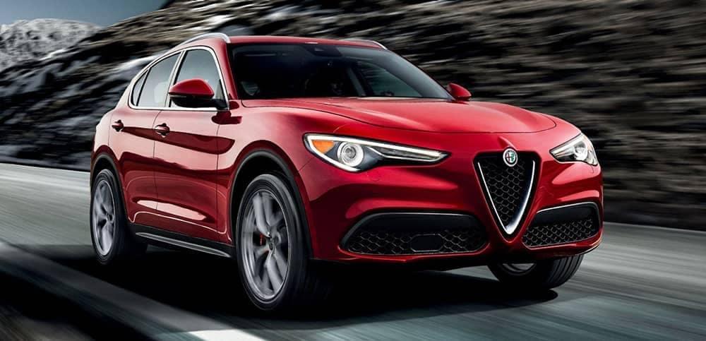 2019 Alfa Romeo Stelvio front view