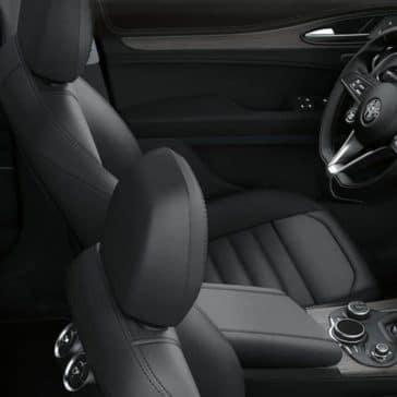 2019 Alfa Romeo Stelvio interior seating