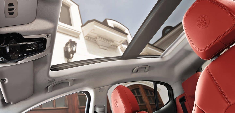 2019 Alfa Romeo Stelvio interior view
