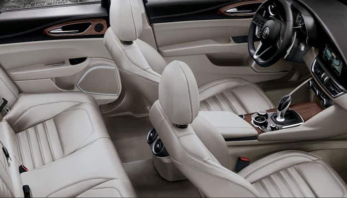 2019 Alfa Romeo Giulia Interior Side View