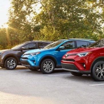2017 Toyota RAV4 models