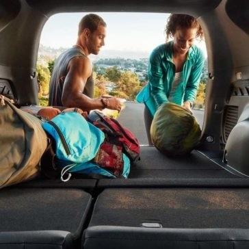 2017 Toyota RAV4 cargo space