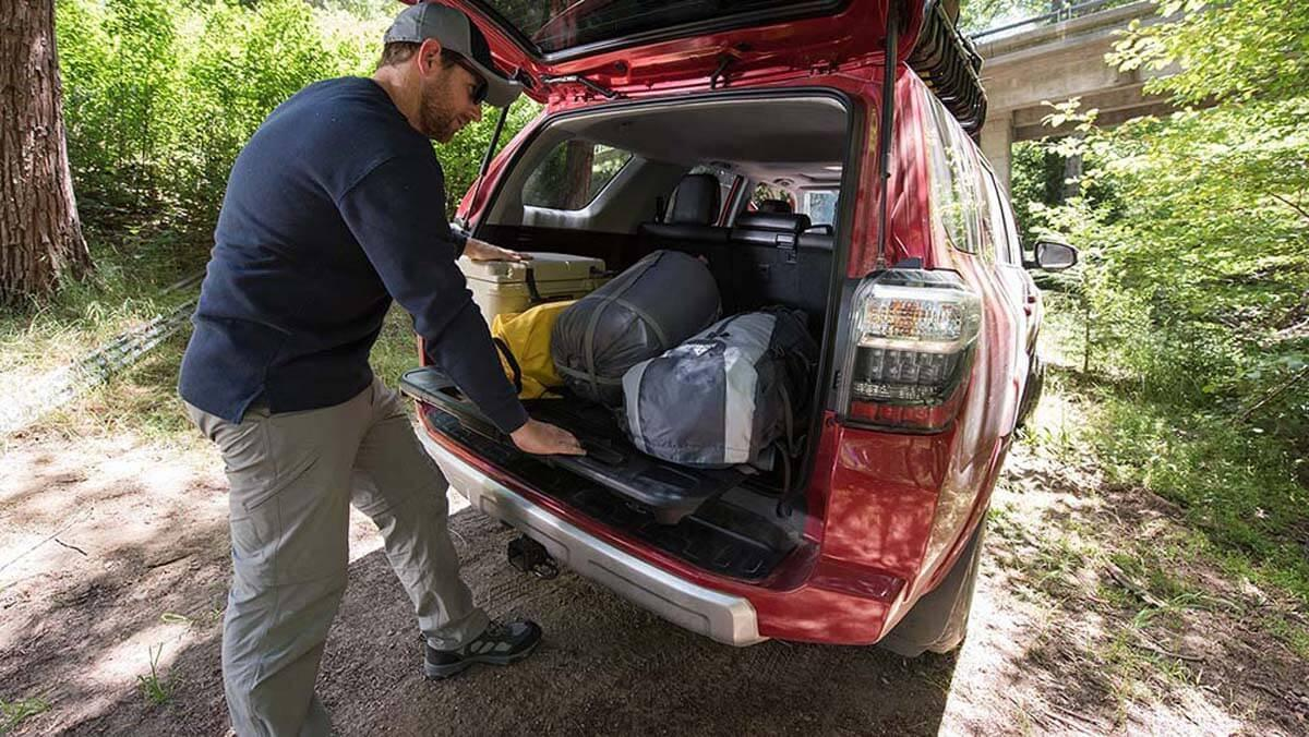 2017 Toyota 4Runner interior cargo
