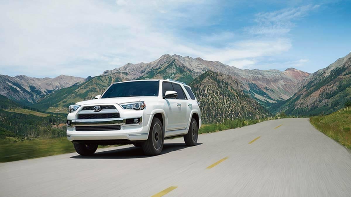 2017 Toyota 4Runner white exterior
