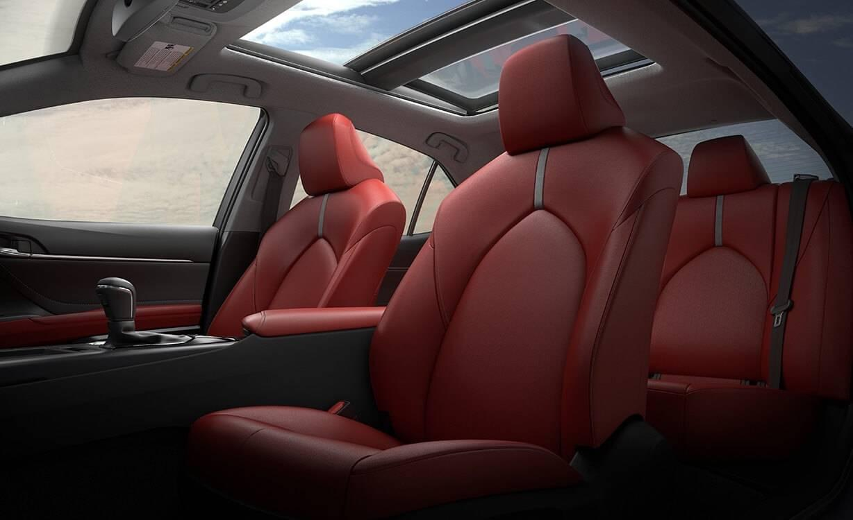 2018 Toyota Camry Front Interior