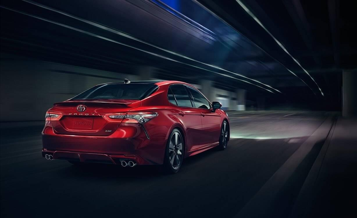 2018 Toyota Camry New Look