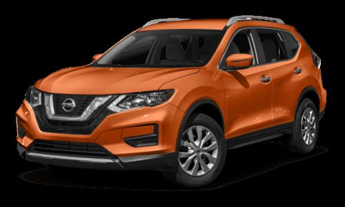 2017 Toyota RAV4. 2017 Nissan Rogue Orange Exterior Model
