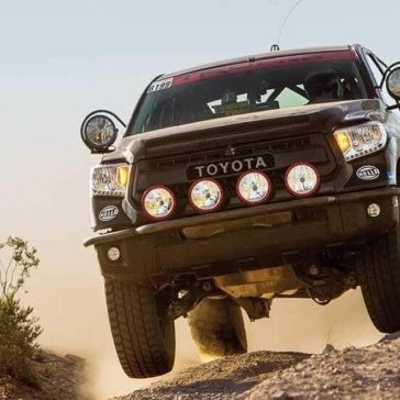 2017 Toyota Tundra in action
