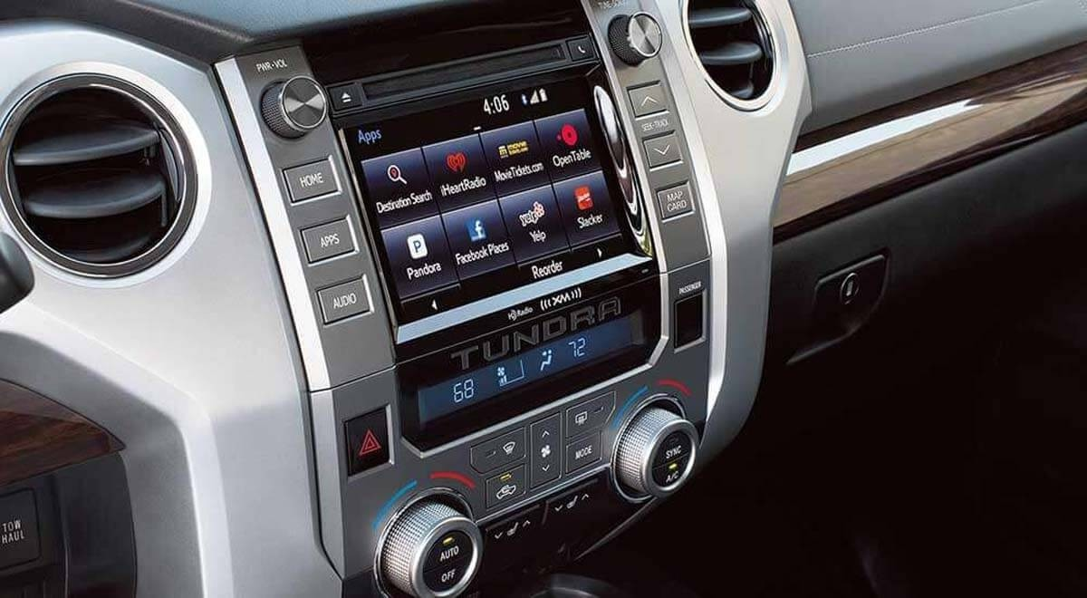 2017 Toyota Tundra entertainment features