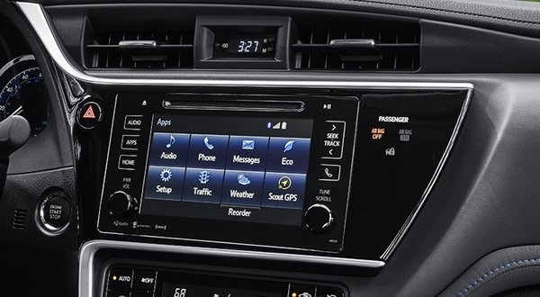 Entune Audio in the Toyota Corolla