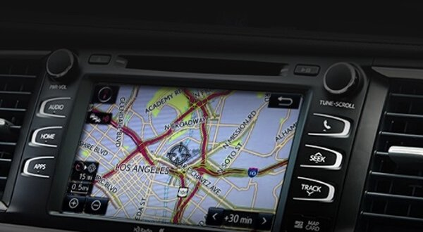 Integrated Navigation Feature of the Toyota Entune