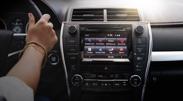 Entune Audio in the Toyota Camry
