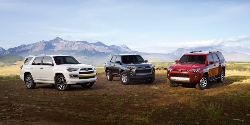 2017 Toyota 4Runner Models