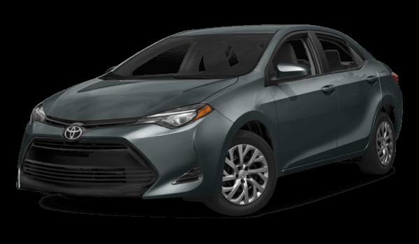 2017 Toyota Corolla white background