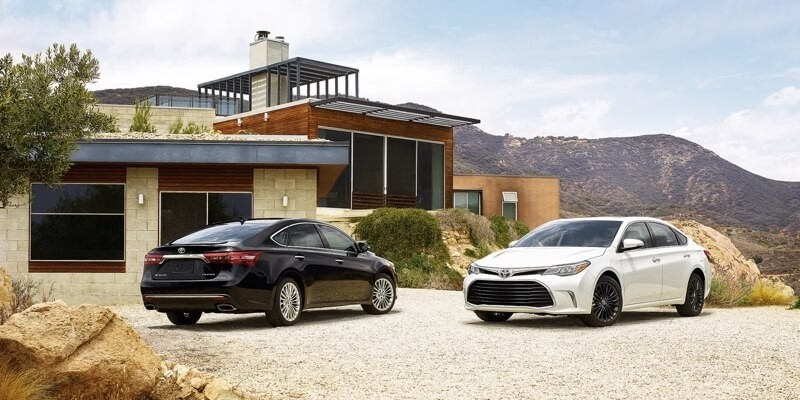 2018 Toyota Avalon models