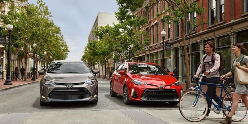 2018 Toyota Corolla Models Front Exterior