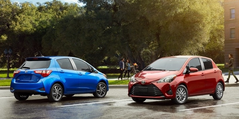 2018 Toyota Yaris models