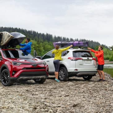 2018 Toyota RAV4 models