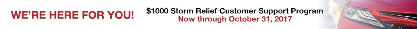 Storm relief
