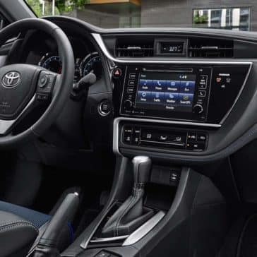 Toyota Corolla SE Interior Vivid Blue