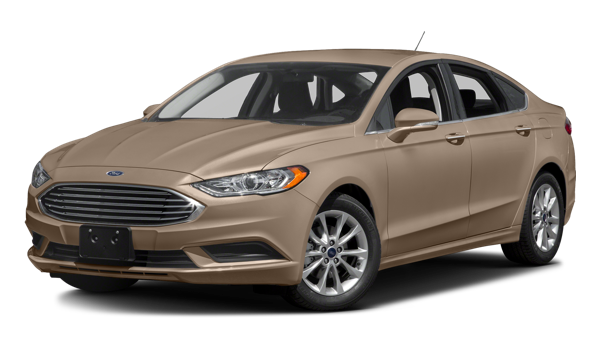 2018 Ford Fusion white background