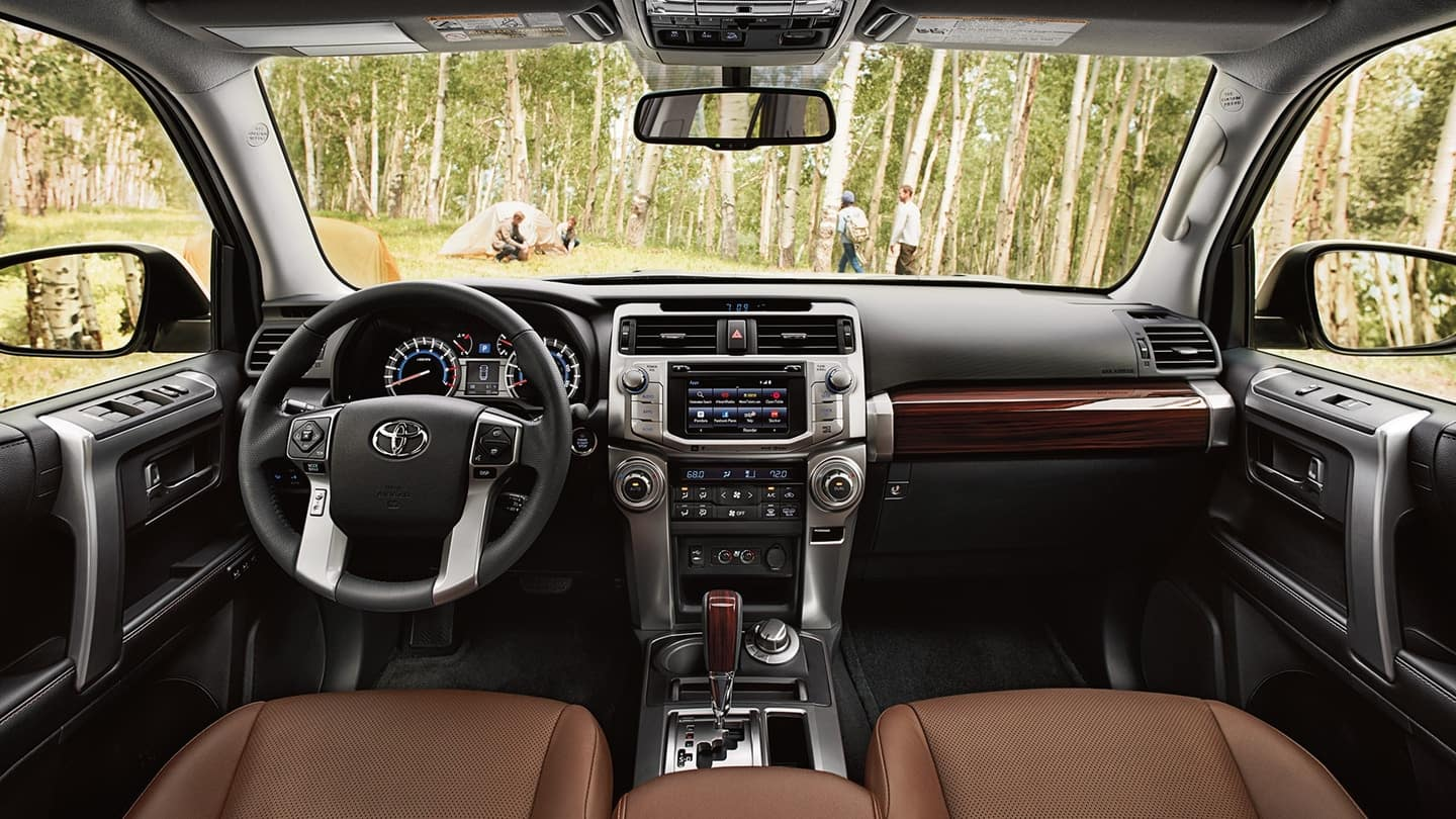 2018 Toyota 4Runner front interior features