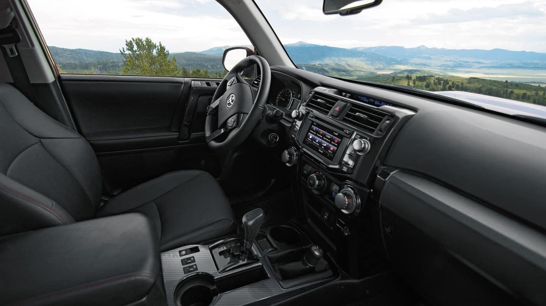 2018 Toyota 4Runner front interior