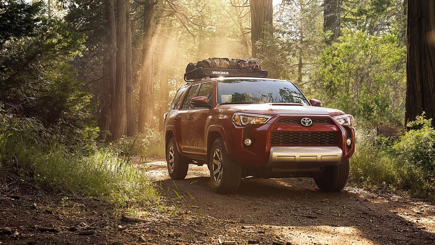 2018 Toyota 4Runner red exterior