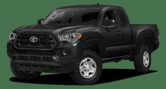 2018 Toyota Tacoma white background