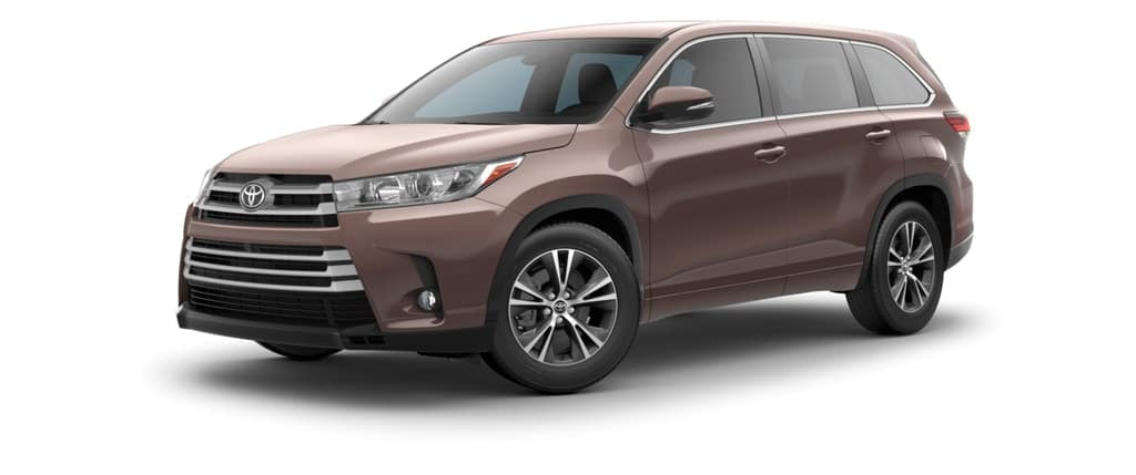 2018 Toyota Highlander in Toasted Walnut Pearl