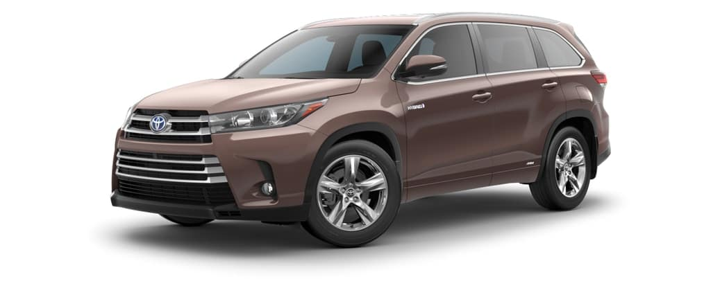 2018 Toyota Highlander Hybrid in Toasted Walnut Pearl