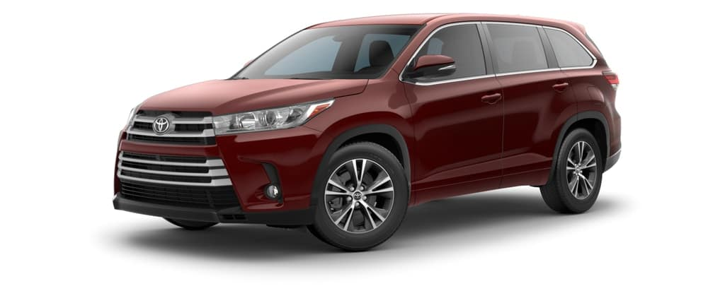 2018 Toyota Highlander in Ooh La La Rouge Mica