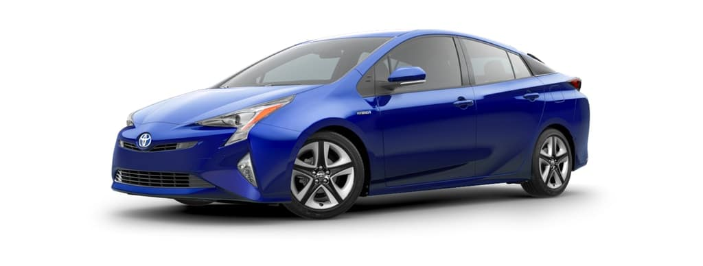 2018 Toyota Prius Hybrid in Blue Crush Metallic