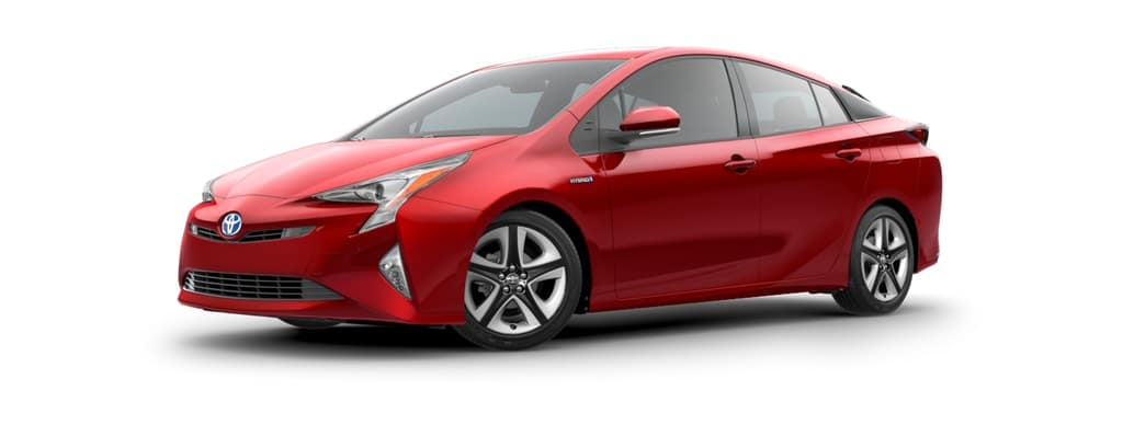 2018 Toyota Prius Hybrid in Hypersonic Red