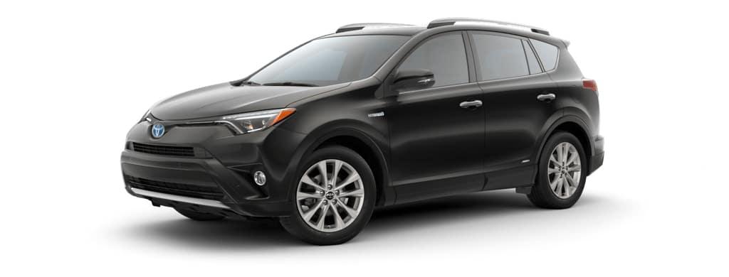 2018 Toyota Rav4 Hybrid in Black Sand Pearl