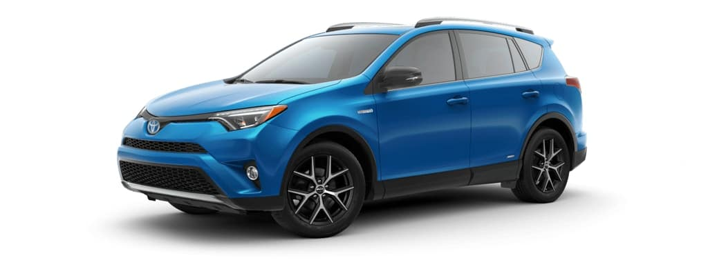 2018 Toyota Rav4 Hybrid in Electric Storm Blue