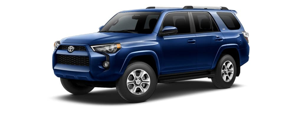 2019 Toyota 4Runner in Nautical Blue Metallic