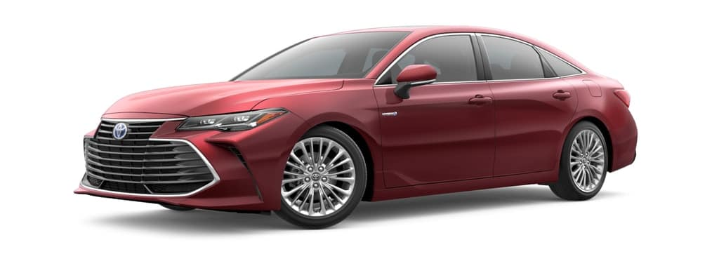 2019 Toyota Avalon Hybrid in Ruby Flare Pearl