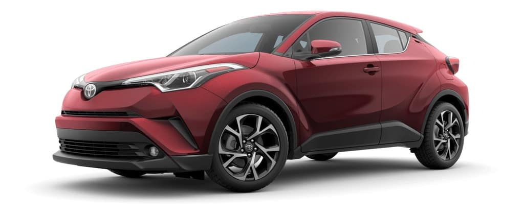 2019 Toyota C-HR in Red Flame Pearl