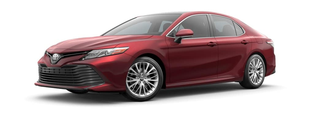 2019 Ruby Flare Pearl Toyota Camry