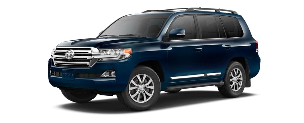 2019 Toyota Land Cruiser in Blue Onyx Pearl