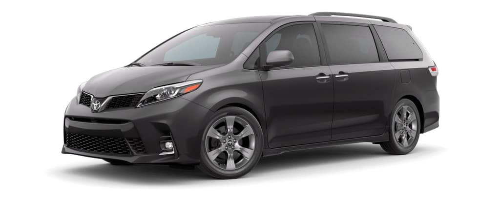 2019 Toyota Sienna in Predawn Gray Mica
