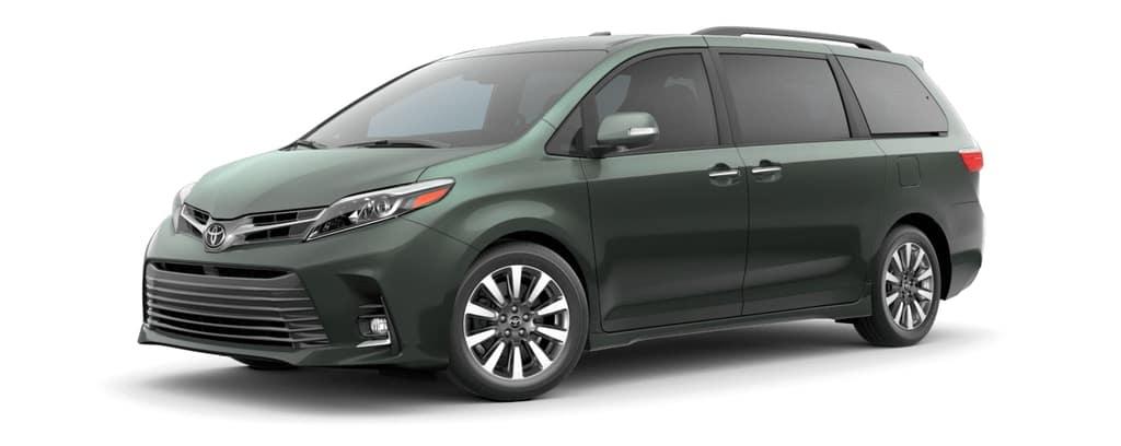 2019 Toyota Sienna in Alumina Jade Metallic