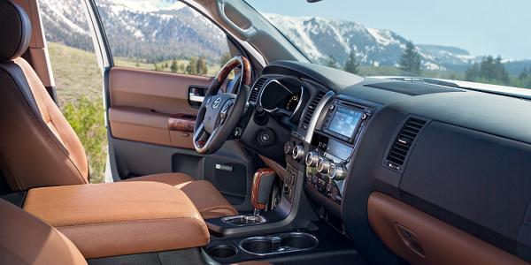 Toyota Sequoia Technology