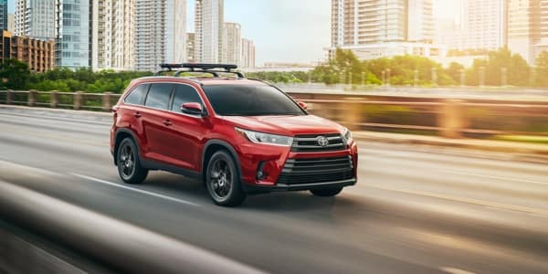 New Toyota Highlander Tech