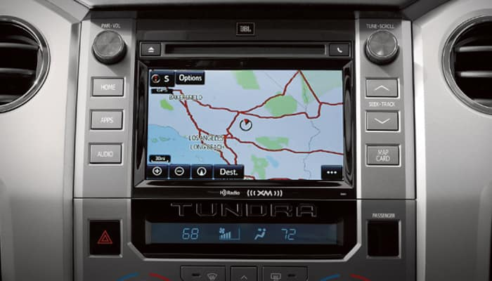The 2019 Toyota Tundra comes packed with advanced technology features