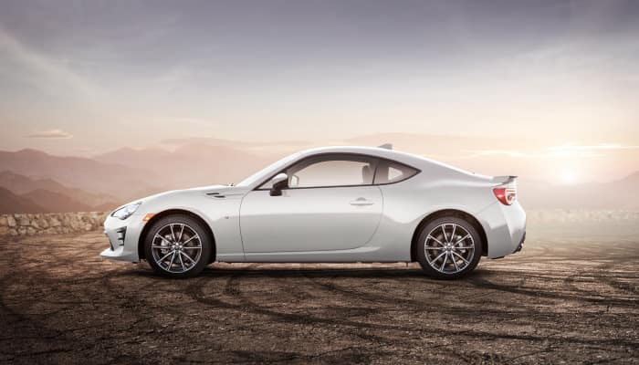 The sporty exterior 2019 Toyota 86