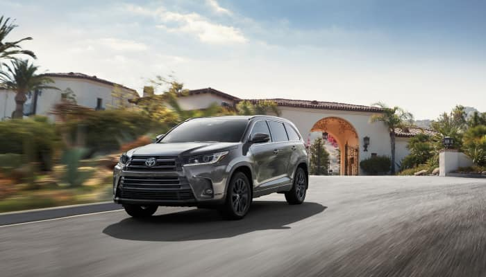 The 2019 Toyota Highlander is ready for any terrain